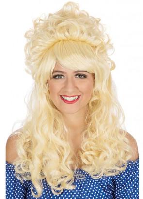 60s Blonde Beehive Wig