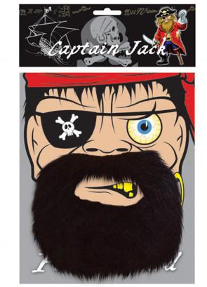 Captain Jack Pirate Beard