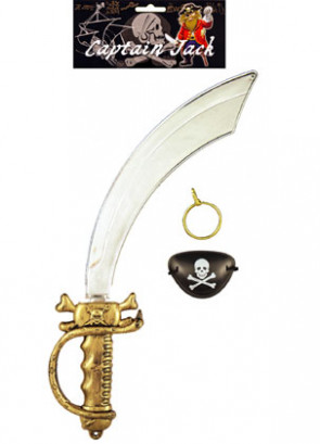 Captain Jack Sword Set (3pcs)