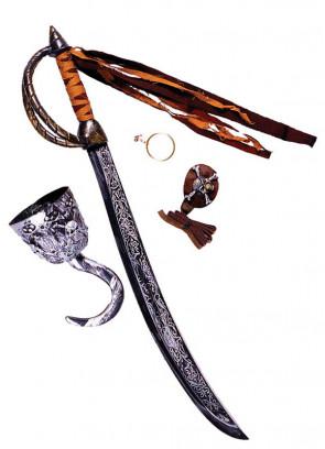 Caribbean Pirate Sword Set