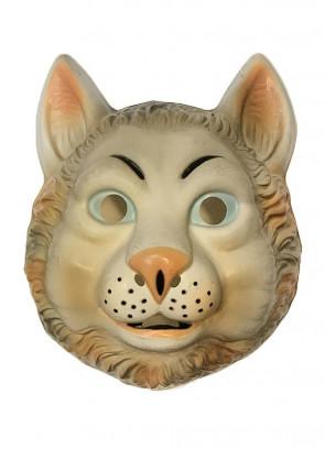 Cat Plastic Mask (Kids)
