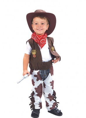 Cowboy Cow-Print - Toddler