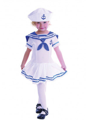 Sailor Girl Baby Costume