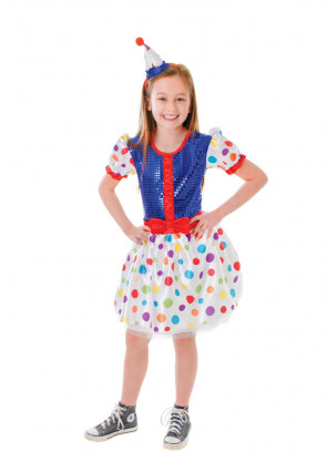 Clown Dress Costume