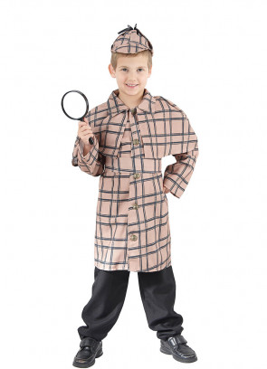 Detective (Sherlock Holmes)  (Boys) Costume
