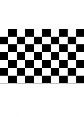 Chequered/Checkered Flag (Racing) 5x3