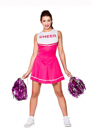 High School Cheerleader (Pink)