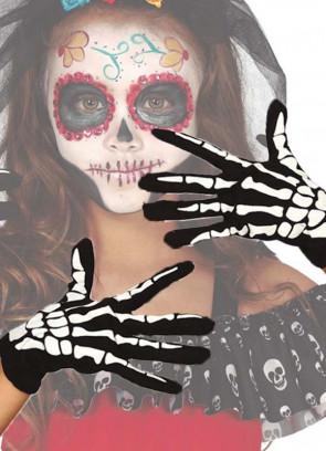 Skeleton Gloves - Kids