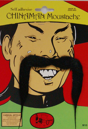 China Man Moustache