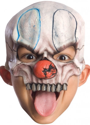 Chuckles Clown Mask (Kids)
