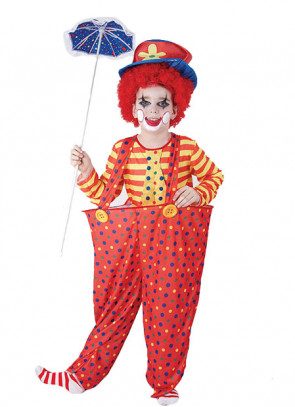 Hoop Clown (Kids) Costume