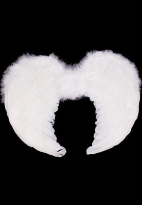 Angel Wings White (Kids) 30x42cm