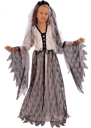 Corpse Bride (Velvet)  (Girls) Costume