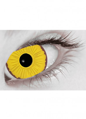 Cosplay (Yellow) Mini Sclera Contact Lenses (17mm) - 30 Day Wear