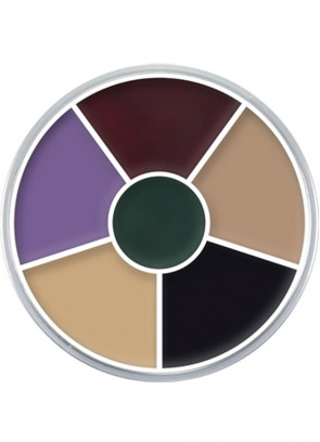 Kryolan Supracolor Cream Make-Up Circle - Black Eye