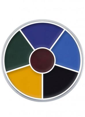 Kryolan Supracolor Cream Make-Up Circle - Black Eye No2