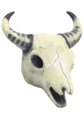 Creepy Cow Skull