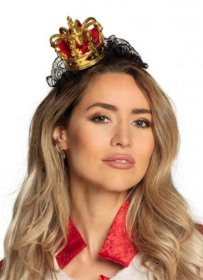 Mini Regal Royal Crown on Headband