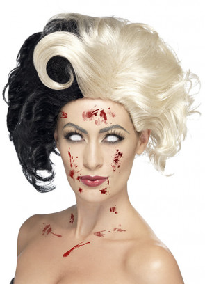 Evil-Madame Wig - Black / Blonde