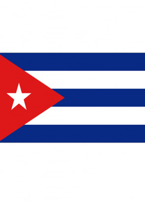 Cuba Flag 5x3