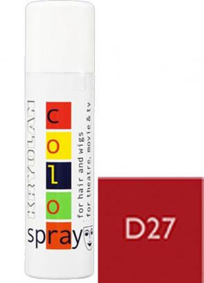 Kryolan Color Hair Spray (Titian Brown D27)