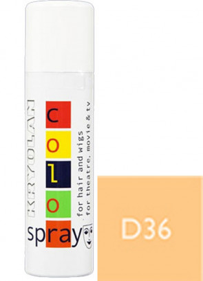 Kryolan Color Hair Spray (Opaque Blonde D36)