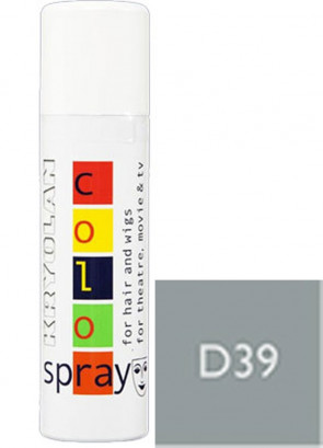 Kryolan Color Hair Spray (Pearl Grey D39)