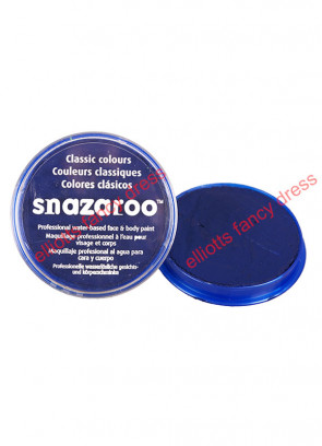 Snazaroo Dark Blue Face Paint - Classic 18ml