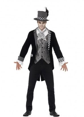 Mens Dark Hatter Costume