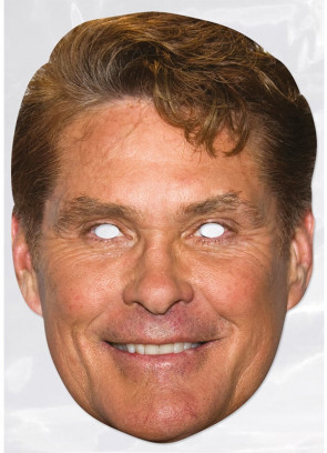David Hasslehoff Card Face Mask