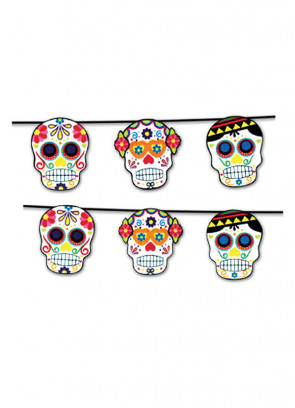 Day of the Dead Bunting