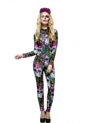 Fever Day of the Dead Catsuit