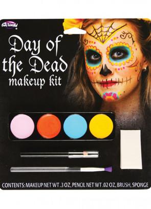 Day of the Dead Make-Up Kit - Sugar Skull