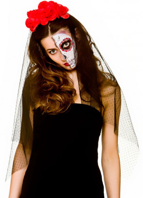 Day of the Dead Veil