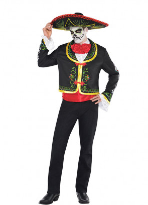 Day of the Dead Senor (Mens) Costume
