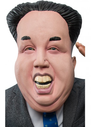 Dear Leader Rubber Mask - Korean Dictator