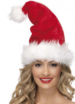 Tinsel Santa Hat