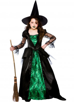 Deluxe Emerald-City Witch Costume
