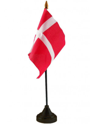 Denmark Table Flag