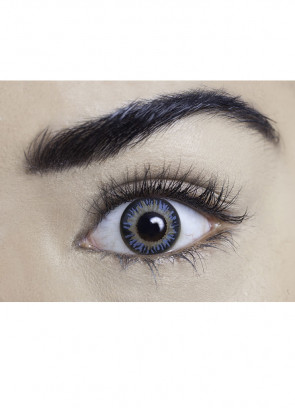 Diamond Blue Coloured Contact Lenses - One Day Wear