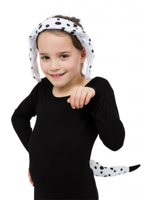 Dalmatian Set (Ears and Tail)