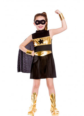 Black Superhero Girl Costume