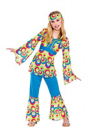 Retro Hippy Girl Costume