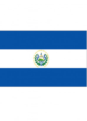 El Salvador Flag 5x3
