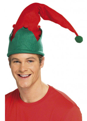 Elf Hat With Pom Pom