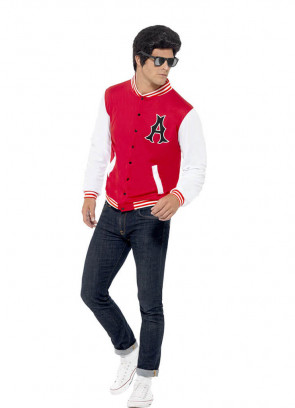 1950's College Jock - Letterman Jacket Costume