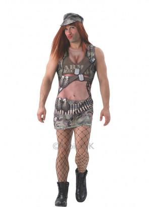 Army Annie (Mens) Costume