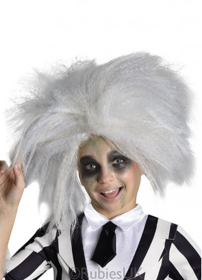 Beetlejuice (Ladies/Girls) Wig