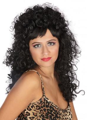 Esmeralda Black - Long Curly Wig