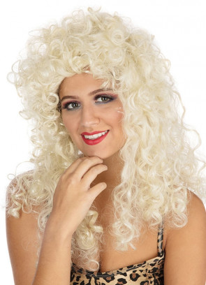 Esmeralda Blonde - Long Curly Wig